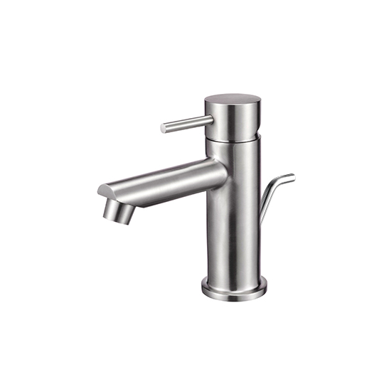 Basin Faucet W/Lift Rod (Stainless Steel)