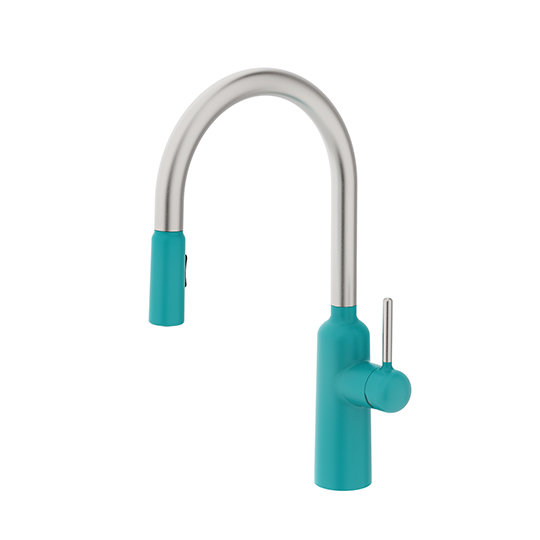 Kitchen Faucet With Pull-Out Sprayer
