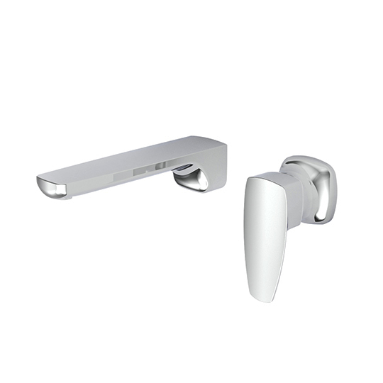 Wall-Mounted Basin Mixer (Lead-Free Brass)