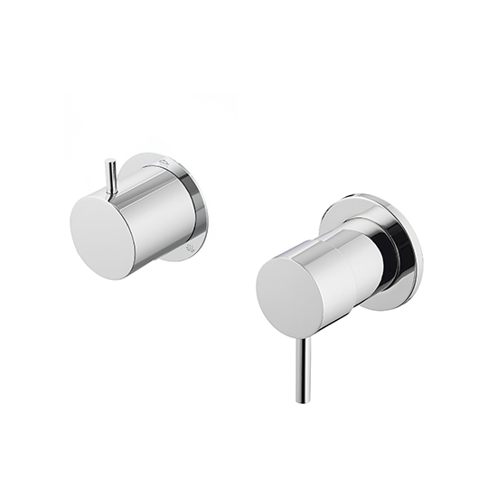 Single-Handle Concealed Mixer W/3-Way Diverter (Showerhead/Hand Shower/Bathtub)