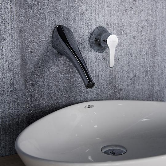Nature Single-Handle Wall-Mounted Basin Faucet